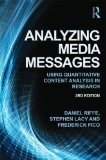 Analyzing Media Messages Using Quantitative Content Analysis in Research 3rd 2014 (Revised) edition cover