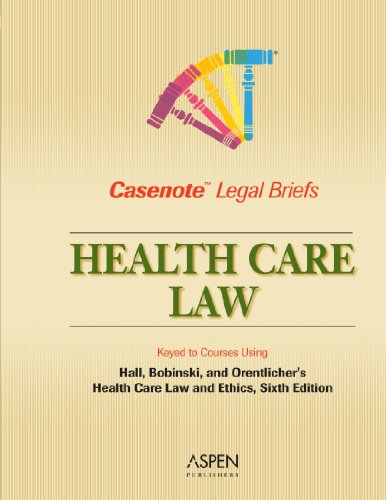 Health Care Keyedto Hall, Bobinski, and Orentlicher  6th (Student Manual, Study Guide, etc.) 9780735543676 Front Cover