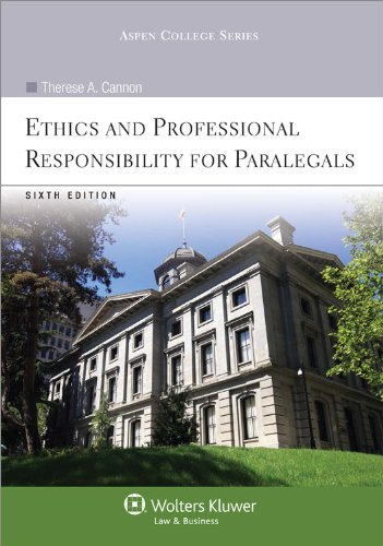Ethics and Professional Responsibility for Paralegals  6th 2011 (Revised) edition cover