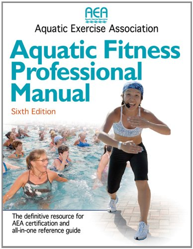 Aquatic Fitness Professional Manual  6th 2010 edition cover