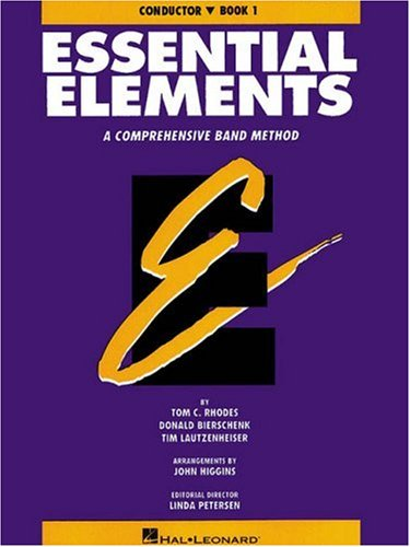 Essential Elements Bk. 1 : Conductor 1st edition cover