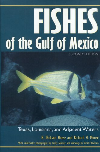 Fishes of the Gulf of Mexico Texas, Louisiana, and Adjacent Waters 2nd 1998 edition cover