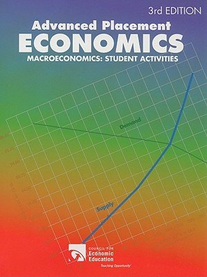Advanced Placement Economics : Macroeconomics: Student Activities 3rd 2003 edition cover