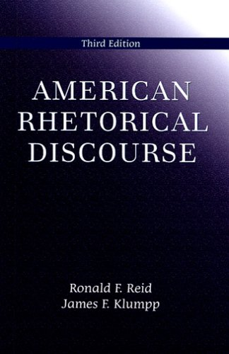 American Rhetorical Discourse  3rd 2005 edition cover