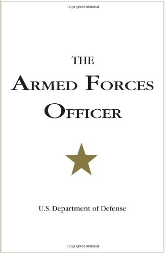 Armed Forces Officer  N/A edition cover