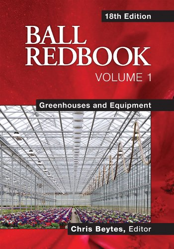 Ball Redbook Greenhouses and Equipment 18th 2011 edition cover