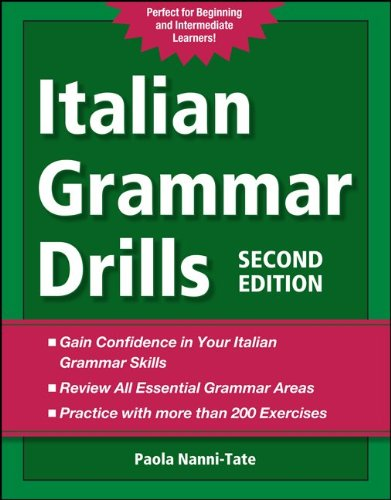 Italian Grammar Drills  2nd 2012 edition cover