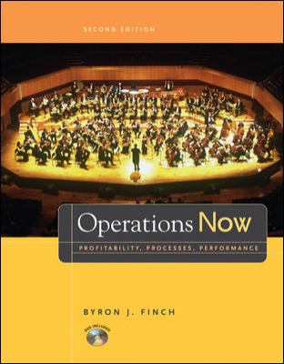Operations Now Profitability, Processes, Performance 2nd 2006 edition cover