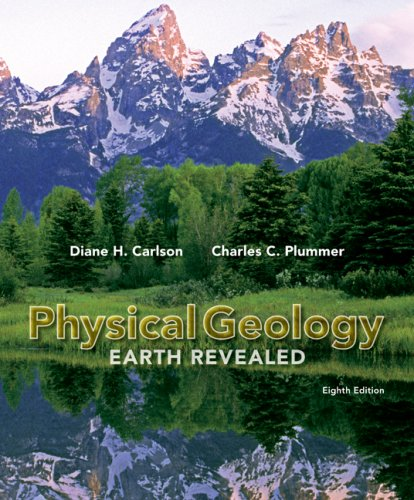 Physical Geology 8th 2009 edition cover