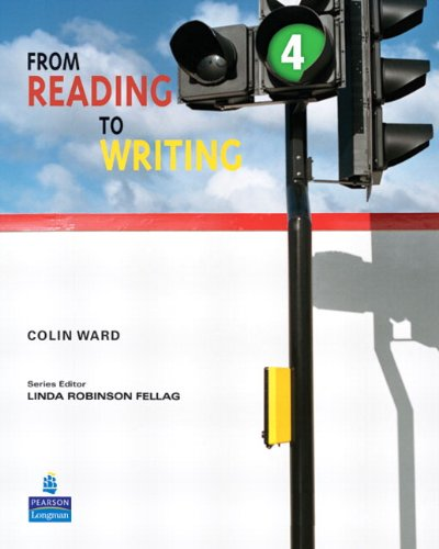 From Reading to Writing  4th 2009 (Student Manual, Study Guide, etc.) edition cover