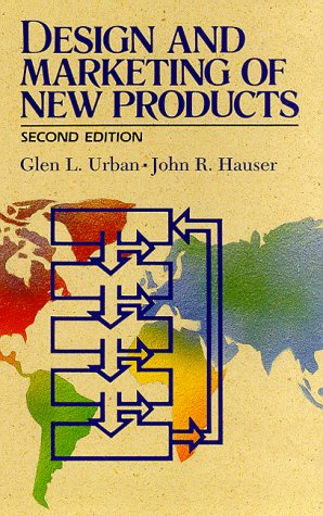 Design and Marketing of New Products  2nd 1993 9780132015677 Front Cover