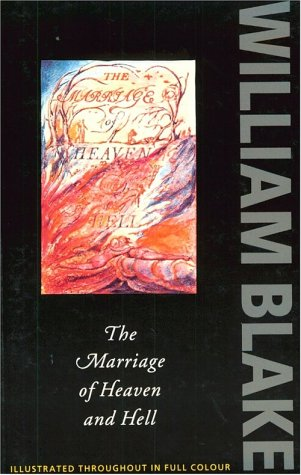 Marriage of Heaven and Hell   1975 (Facsimile) edition cover