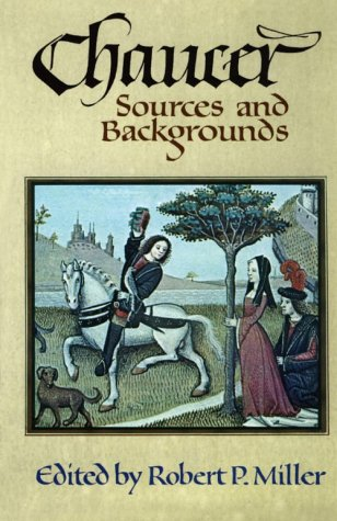 Chaucer Sources and Background  1977 edition cover