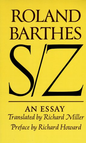 S/Z An Essay N/A edition cover