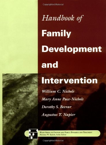 Handbook of Family Development and Intervention   2000 9780471299677 Front Cover