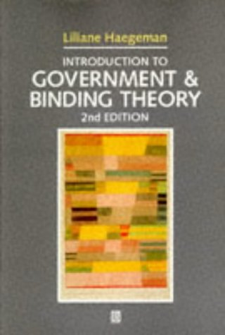 Introduction to Government and Binding Theory  2nd 1994 (Revised) edition cover