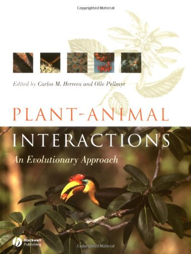 Plant Animal Interactions An Evolutionary Approach  2002 edition cover