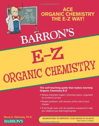 E-Z Organic Chemistry  2nd 2011 edition cover