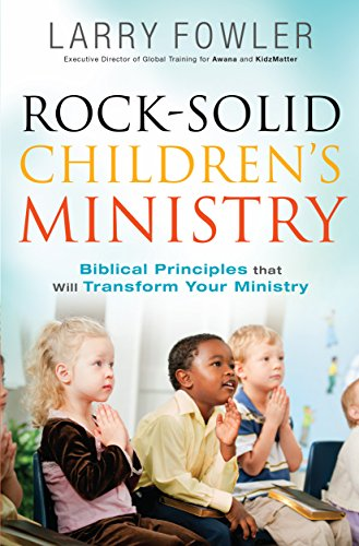 Rock-Solid Children's Ministry  N/A edition cover