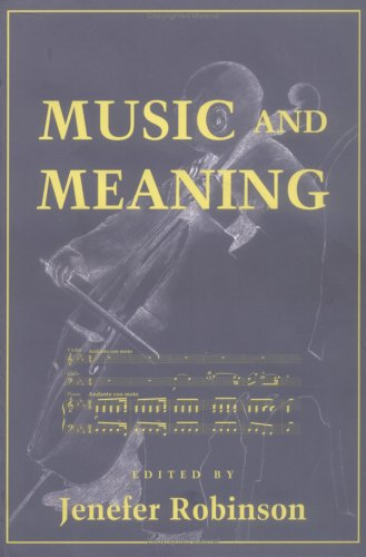 Music and Meaning   1997 edition cover
