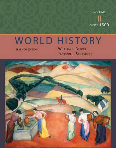 World History - Since 1500  7th 2013 edition cover