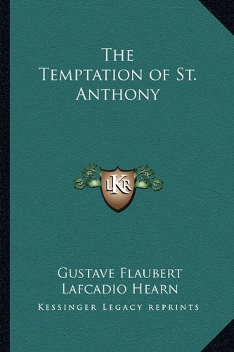 Temptation of St Anthony  N/A 9781162798677 Front Cover
