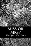 Miss or Mrs. ?  N/A 9781491225677 Front Cover