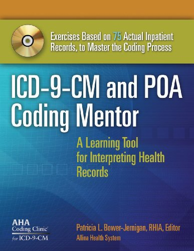 ICD-9-CM and POA Coding Mentor A Learning Tool for Interpreting Health Records, Without Answer Key  2009 edition cover