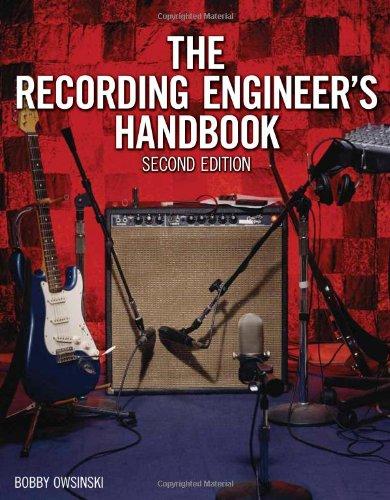 Recording Engineer's Handbook  2nd 2009 edition cover