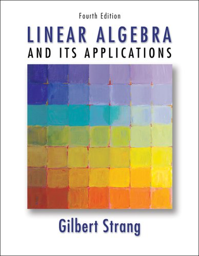 Linear Algebra and Its Applications  4th 2006 (Revised) 9780030105678 Front Cover