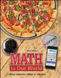 Math in Our World  3rd 2015 edition cover