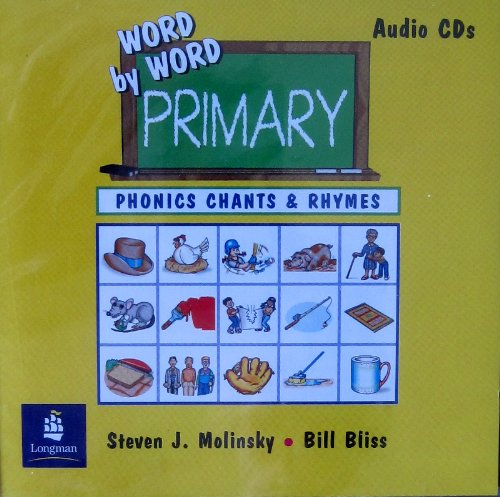 Word by Word Primary Phonics Picture Dictionary, Paperback Phonics Chants and Rhymes Audio CD  2000 edition cover