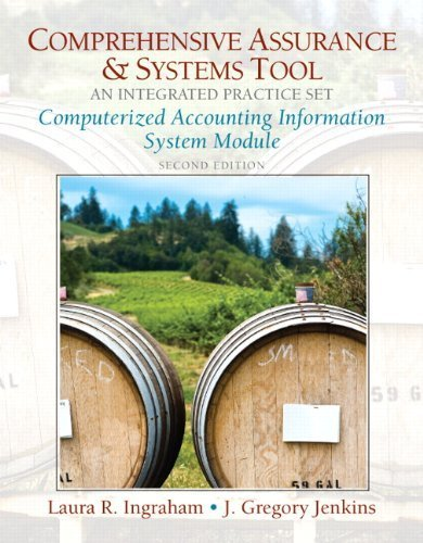Comprehensive Assurance and Systems Tool  2nd 2010 9780132089678 Front Cover