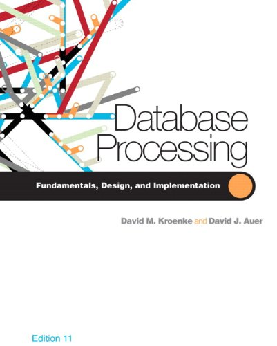 Database Processing  11th 2010 edition cover
