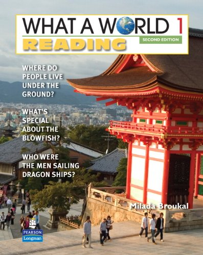 What a World Reading Amazing Stories from Around the Globe 2nd 2010 edition cover