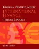 International Finance Theory and Policy Plus NEW MyEconLab with Pearson EText (1-Semester Access) -- Access Card Package 10th 2015 edition cover