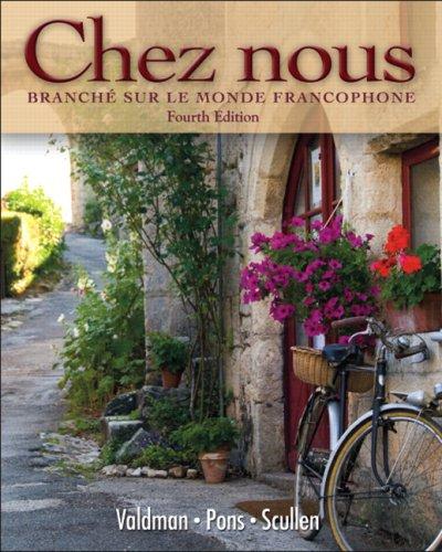 Chez Nous Branch� Sur le Monde Francophone 4th 2010 edition cover
