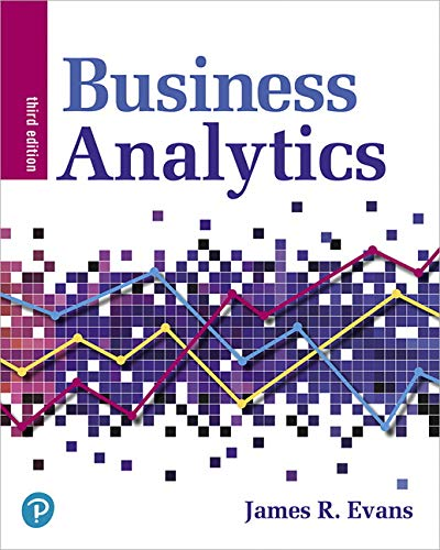 Business Analytics:   2019 9780135231678 Front Cover