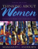 Thinking About Women: Sociological Perspectives on Sex and Gender  2014 9780205899678 Front Cover