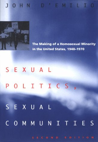 Sexual Politics, Sexual Communities  2nd 1998 edition cover