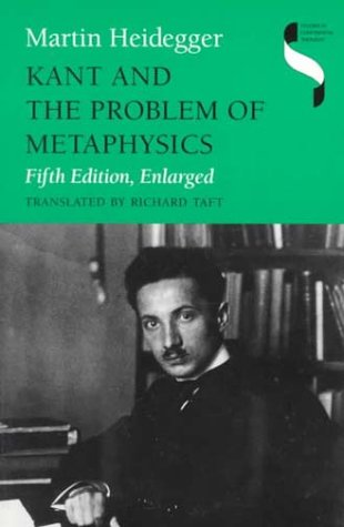 Kant and the Problem of Metaphysics  5th 1997 (Enlarged) edition cover