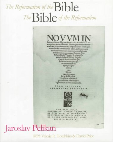 Reformation of the Bible The Bible of the Reformation  1996 edition cover