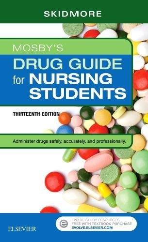 Mosby's Drug Guide for Nursing Students  13th 2019 9780323612678 Front Cover