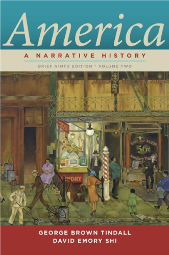 America A Narrative History 9th 2013 9780393912678 Front Cover