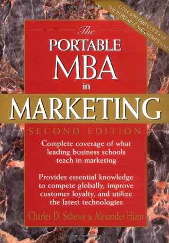 Portable MBA in Marketing  2nd 1998 (Revised) edition cover