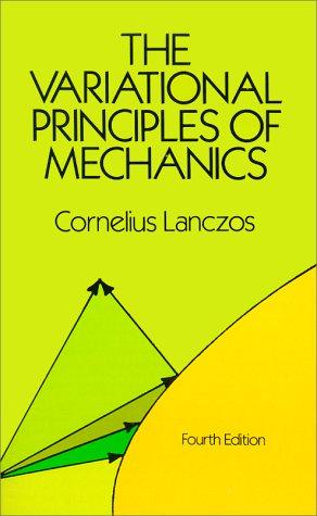 Variational Principles of Mechanics  Reprint edition cover