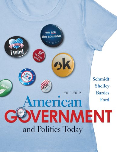 American Government and Politics Today 2011-2012 Edition  15th 2012 edition cover