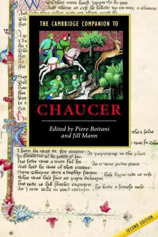 Cambridge Companion to Chaucer  2nd 2003 (Revised) edition cover