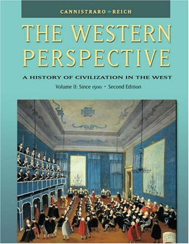 Western Perspective Since the Middle Ages 2nd 2004 (Revised) 9780534610678 Front Cover