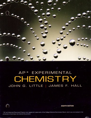 Chemistry AP Lab Manual 8E  8th 2010 9780547168678 Front Cover